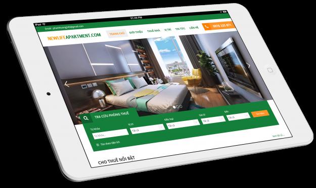 Thiết kế website thuê văn phòng chung cư