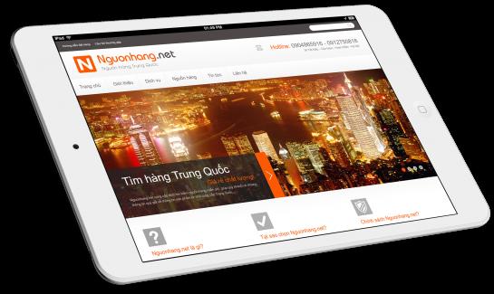 Thiết kế website Công ty Hà Nam Trung Quốc