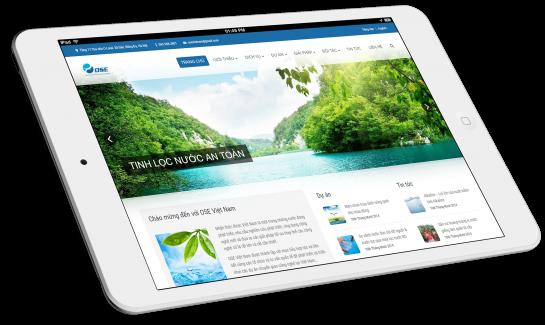Thiết kế website Công ty OSE Nhật Bản