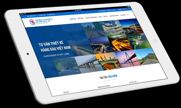 Thiết kế website Tổng công ty TEDI