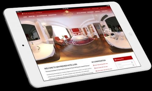 Thiết kế website Khách sạn Gem Premier Hotel