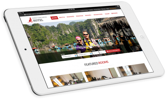 Thiết kế website khách sạn Hanoi Kangaroo Hotel