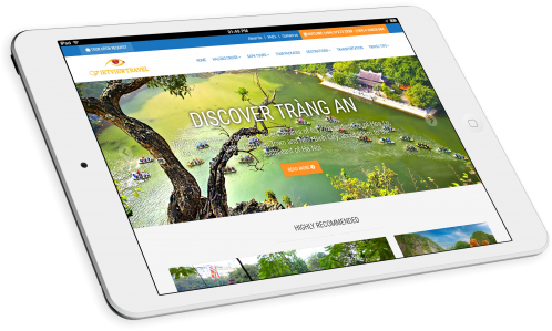 Thiết kế website tour du lịch Vietview Travel